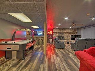 NEW! Norfolk Lake Getaway Home w/Game Room & View!