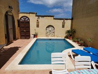 Mikiel u Marija Holiday Farmhouse with Private Pool in Island of Gozo