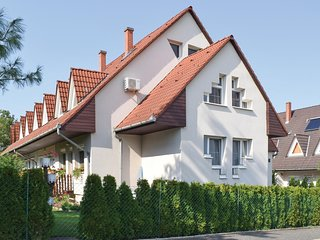 Amazing home in Balatonföldvár w/ WiFi and 3 Bedrooms (UBS106)