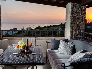Luxury Stone Villa Diana - private pool, 200m to the beach, enchanting sunsets