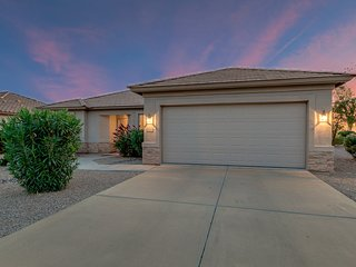 Golf Course Views in Solera 55+ Active Adult Community-Chandler!