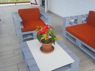 Nice bungalow with garden & terrace