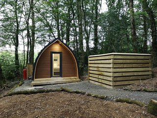 The Pod-Hot Tub-Woodland Lodges-St Clears-Carmarthen