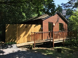 Wren 23-Hot Tub-Woodland Lodges-Tenby-Pembroke