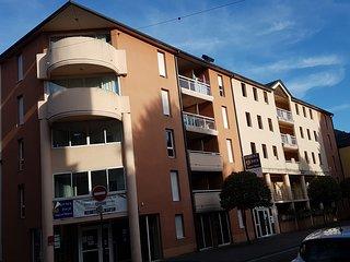 LOURDES Mairie - Studio Cabine 2 a 4 pers. - Clim / terrasse / parking
