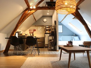 Duplex nearby Brussels Airport, centrally locaded to visit the historical cities