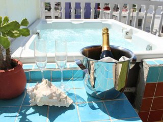 Cancun Guest House 4 Terrace Tub