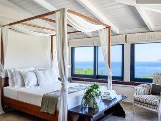 Syvota Villa Sleeps 10 with Pool and Air Con - 5217977