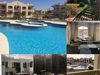 Elgouna nearby lovely modern ground floor in a villa within a close compound