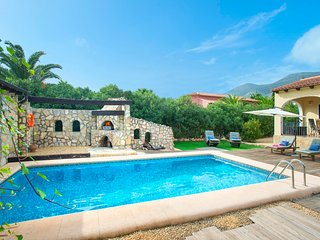 Jalon Villa Sleeps 4 with Pool Air Con and WiFi - 5820584