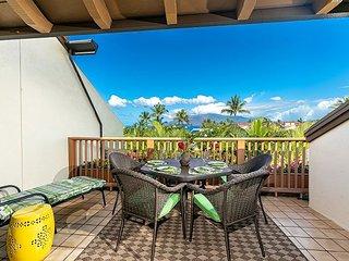Maui Kamaole #H-211 2Bd/2Ba, Ocean View, A/C, Wifi, NEWLY RENOVATED! Sleeps 6