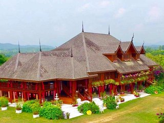 Thai Teak Palace Your Own Private Mountaintop Palace in Thailand