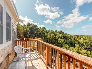 Renovated home w/ amazing bay view & multiple decks - near beach, dogs OK!