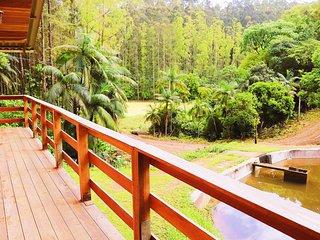 Cabana em meio a natureza, Aconchegante e lindo.