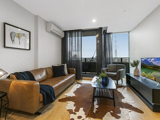 Enjoy Walking to the City From a Luxury Apartment