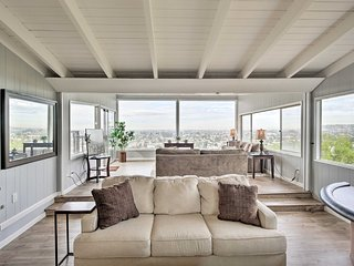 NEW! Modern Hillside Estate w/ Private Pool & View