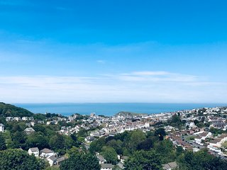 The Look Out- Ilfracombe- Stunning Views- indoor private Swimming Pool
