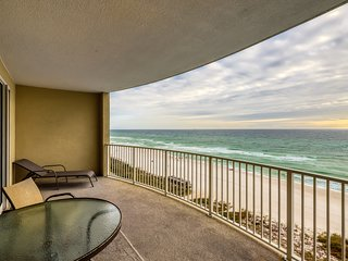 Magnificent beachfront condo with shared pool, hot tub, and beach access