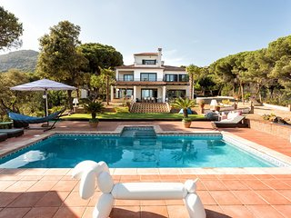 NEW LISTING: Villa Costa Barcelona with sea views, max capacity 22