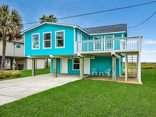 NEW LISTING! Beautiful home with ocean and beach view- short walk to the beach
