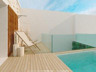 Diseño moderno Villa Miquel - Joya real en el pintoresco pueblo de Búger