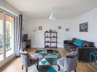 Le Fougères - 2 chambres, garage privé