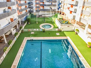 Beautiful apartment in Cabanuelas w/ WiFi, Outdoor swimming pool and 2 Bedrooms