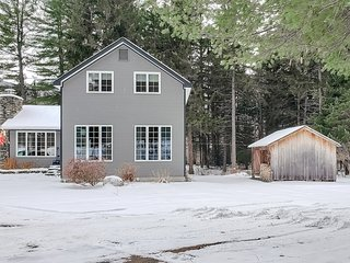 NEW LISTING! Family & dog-friendly home w/ a pond - near skiing & golfing!