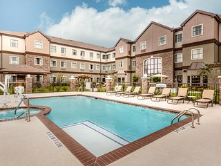 Fitness Center + Outdoor Pool and Hot Tub   Hearing Accessible Suite
