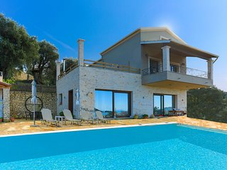 Villa Dersea: Stunning sea and Sunset views, A/C, BBQ