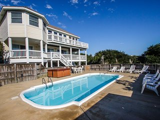Oasis | 885 ft from the beach | Private Pool, Hot Tub | Corolla