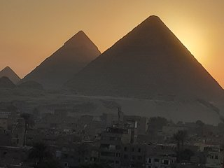 Pyramids view suite