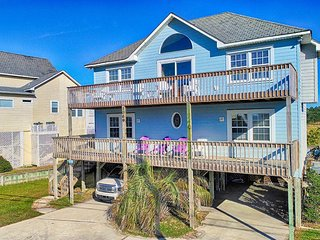 New River Inlet Rd 1069 Oceanview! | Private Heated Pool, Hot Tub, Jacuzzi, Fire