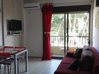 Fijn Appartement voor twee personen met  een perfect ligging in Moraira centrum