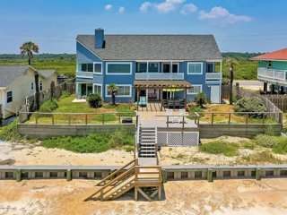 Spectacular 5-Star Home Right On The Beach And Next To Wildlife Preserve