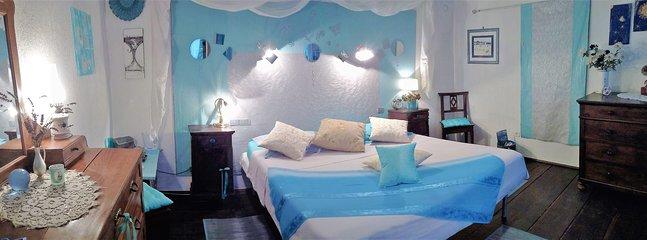 la 2ème chambre de la villa Clelia, la Romantica...