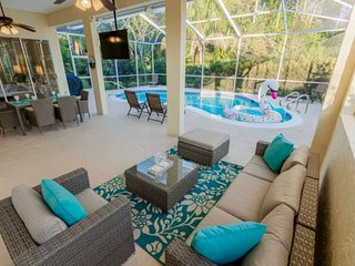 Newly Listed! Covered Lanai w/TV- Heated Pool, Newly Renovated home w/ Coastal F