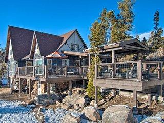 1-Acre Lake Escape w/ Outdoor Kitchen & Swim Spa!