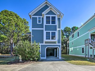 NEW! Coastal Home w/ Community Pool: Walk to Beach