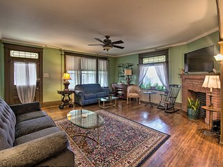 NEW! Victorian Estate w/ Patio - Walk to Downtown!