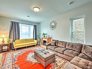 NEW! Trendy Apt w/ Fireplace, 2 Mi to Miller Park!