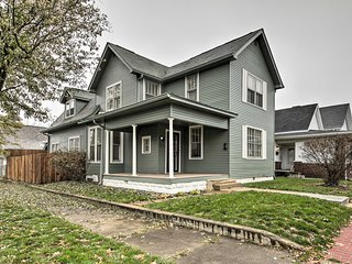 NEW! Noblesville Historic Home 0.3 Mi to Conner St