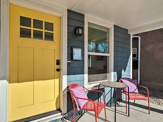 NEW! Charming Escape - Explore Downtown Co Springs