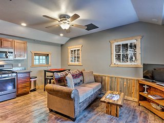 NEW! Apartment 1 Mi to Ouray County Hot Springs!