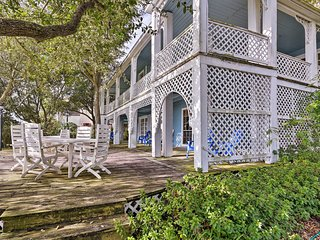 NEW! Pet-Friendly Historic Home on Galveston Bay!