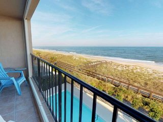 Amazing Oceanfront Views from the 3rd Floor - Cabana Del Mar private beach acces