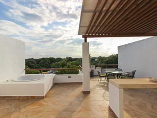 Penthouse with Private Rooftop, Jacuzzi and BBQ - by Olahola