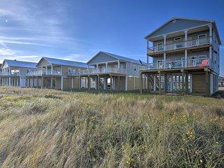 Oceanfront Retreat w/Decks Steps to Surfside Beach