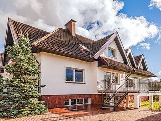Stunning home in Borowo w/ Sauna, WiFi and 3 Bedrooms (PKA527)
