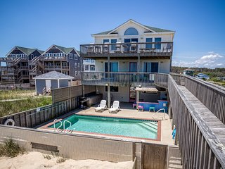 Carolinian II | Oceanfront | Dog Friendly, Private Pool, Hot Tub | Nags Head